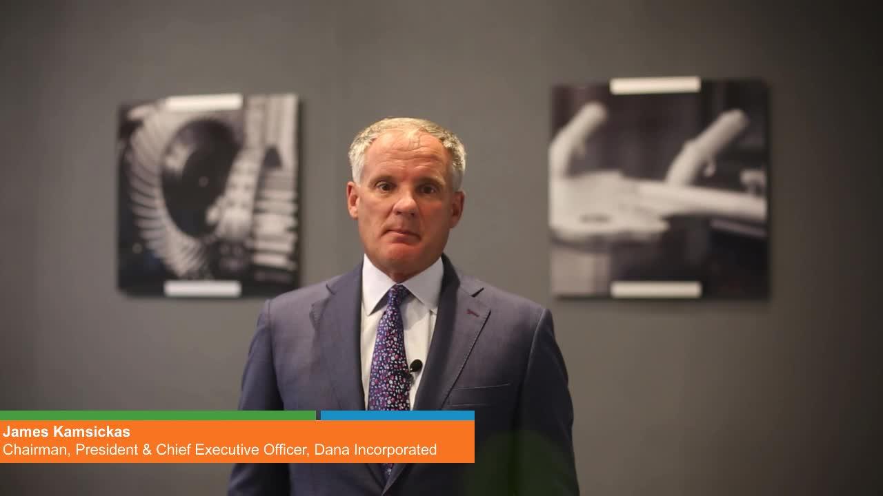 Keynote Address by Dana Inc. Chairman, President & CEO James Kamsickas