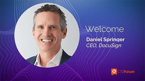 Preview: DocuSign CEO Daniel Springer at 2021 RETHINK CUSTOMERS
