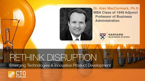 Keynote Lecture: Professor Alan MacCormack at 2020 RETHINK DISRUPTION